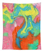 Somewhere New 5- Abstract Art By Linda Woods Tapestry by Linda Woods