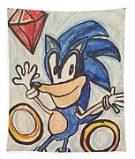 Sonic The Hedgehog Tapestry