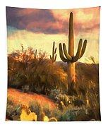 Sonoran Desert Morn Tapestry
