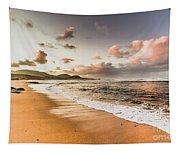Soothing Seaside Scene Tapestry