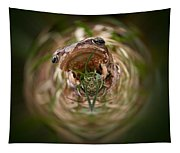 Sorry Said The Frog 1 Tapestry