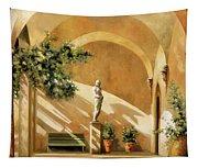 Sotto Il Portico Tapestry