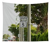 South  Florida 5 Tapestry