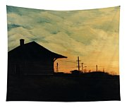 South Holland Train Station Tapestry