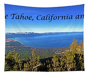 South Lake Tahoe, Ca And Nv Tapestry