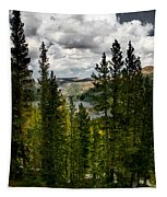 South Lake Through The Pines Tapestry