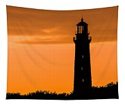 South Lighthouse Closeup Tapestry