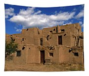 South Pueblo Taos Tapestry