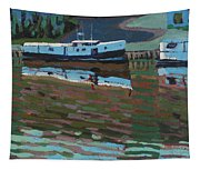 Southampton And Scubbys Bluff Fishing Fleet Tapestry