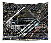 Southbank London Abstract Tapestry
