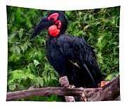 Southern Ground Hornbill Tapestry
