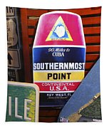 Southernmost Point Tapestry