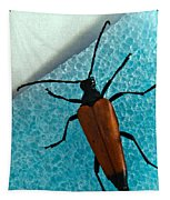 Space Age Beetle Tapestry