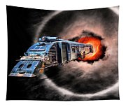 Space Pirates Tapestry