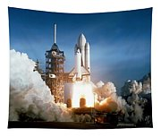 Space Shuttle Columbia - First Launch 1981 Tapestry