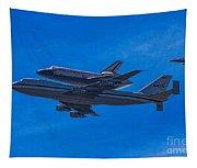 Space Shuttle Endevour Tapestry