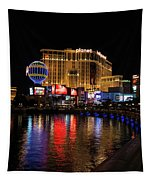 Sparkling Las Vegas Neon - Planet Hollywood Tapestry