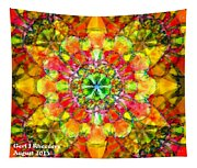 Spectracalia In Yellow Catus 1 No. 3 H A Tapestry