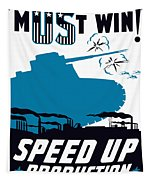 Speed Up Production - Ww2 Tapestry