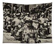 Speedy Motorcycle Tapestry