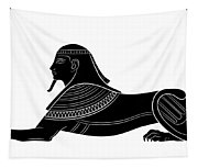 Sphinx - Mythical Creature Of Ancient Egypt Tapestry