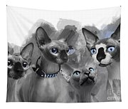 Sphynx Group No 02 Tapestry