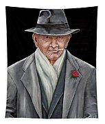 Spiffy Old Man Tapestry