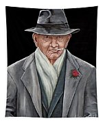 Spiffy Old Man Tapestry
