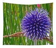 Spiky Blue Tapestry