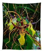 Spindly Orchid Tapestry