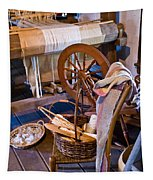 Spinning And Weaving Tapestry