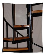 Spiral Stairs Tapestry