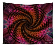 Spiraling Into The Abyss Tapestry
