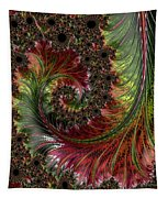 Spiralling Fractal One Tapestry