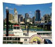 Spirit Of America And Cincinnati  Tapestry