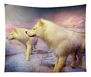 Spirit Of The White Wolf Tapestry