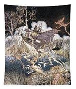 Spirits In Sleepy Hollow Tapestry