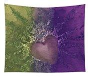 Splattered Ink Tapestry