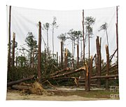 Splintered Trees Tapestry