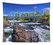 Spokane Falls 2 Tapestry