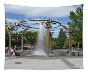Spokane Fountain Tapestry