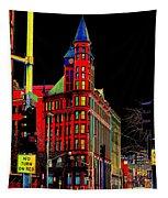 Spokane Turns Red Tapestry