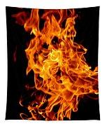 Spooky Hot Spirit Fire Michigan Tapestry