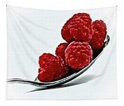 Spoonful Of Raspberries Tapestry