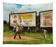 Sport - Baseball - America's Past Time 1943 Tapestry