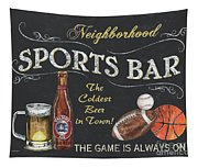 Sports Bar Tapestry