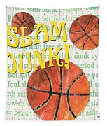 Sports Fan Basketball Tapestry by Debbie DeWitt