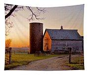 Spring At Birch Barn Tapestry