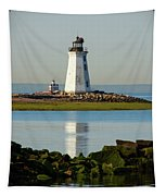 Spring At The Lighthouse Tapestry