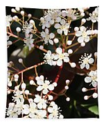 Spring Blossoms Macro Tapestry